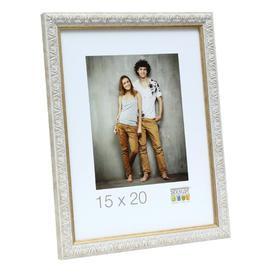 image-Durden Picture Frame Fairmont Park Colour: White, Size: 14.7cm H x 10.9cm W x 1.4cm D