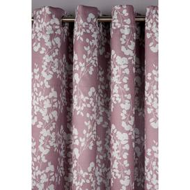 image-Blossom Blockout Eyelet Curtains
