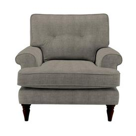 image-Paisley Armchair Como Silver
