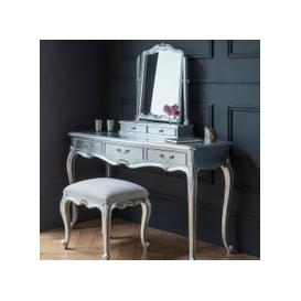 image-Gallery Direct Chic Dressing Table in Silver