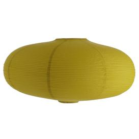 image-Shiro Yellow Paper Easy-To-Fit Ceiling Shade, Saffron Yellow
