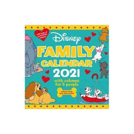 image-Disney Family Organiser Calendar 2021