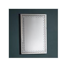 image-Gallery Direct Eastmoore Silver Mirror Rectangle