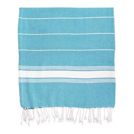 image-2 Piece Quick Dry Beach Towel Same-Size Bale Nicola Spring Colour: Blue