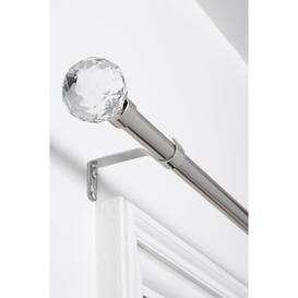 image-Glass Crystal Extendable Curtain Pole