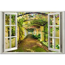 image-'View on Pergola' Graphic Art on Wrapped Canvas East Urban Home