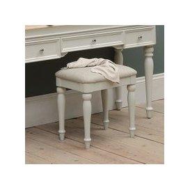 image-Ashwicke Grey Painted Dressing Table Stool