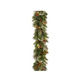 image-Wintry Pine PVC Artificial Christmas Garland 9ft by National Trees