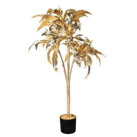 image-Dracéna Artificial plant - / H 150 cm by & klevering Gold