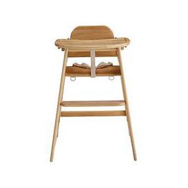 image-John Lewis & Partners Leckford Wooden Highchair, Natural