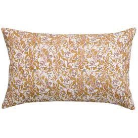 image-Prairie Floral Cushion in Mustard