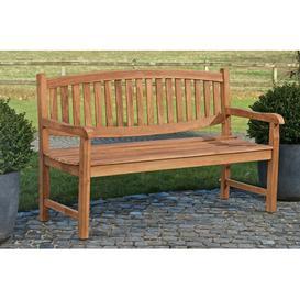 image-Ramsgate Teak Bench Sol 72 Outdoor Size: 93cm H x 120cm W x 64cm D