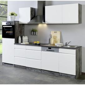 image-Tyntesfield Kitchen Pantry Brayden Studio Body colour: Oak Vintage, Front colour: Glossy White