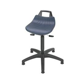 image-Height-adjustable office stool Symple Stuff Seat Height: 87.5cm H x 63cm W x 63cm D