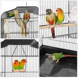 image-Catharine Hanging Medium Parakeet Bird Cage