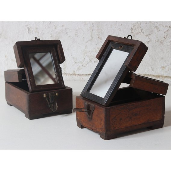 image-Small Vintage Jewellery Box  Small