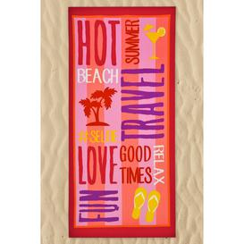 image-Super Lightweight Hot Summer Beach Towel