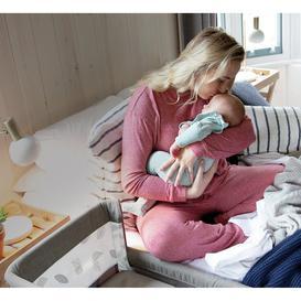 image-Joie Roomie Glide DLX Bedside Sleeper Crib