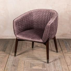 image-Antony Tub Chair Corrigan Studio Upholstery Colour: Mink