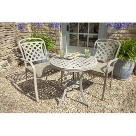 image-Berkeley 2 Seater Bistro Set with Cushions
