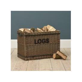 image-Extra Large Log Basket