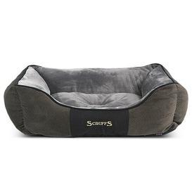 image-Chester Bolster Cushion Scruffs Size: 19cm H x 75cm W x 60cm D, Colour: Graphite/Grey