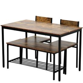 image-Hilbert 4 - Person Dining Set