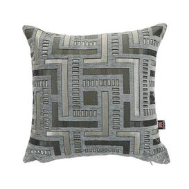 image-Chicago Chenille Cushion with filling Bloomsbury Market Size: 55 x 55cm