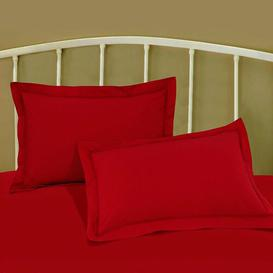 image-Oxford Pillowcase Great Knot Colour: Red