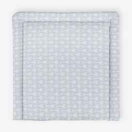 image-Arrow Changing Mat KraftKids Size: 78cm H x 78cm W x 4cm D, Colour: Grey