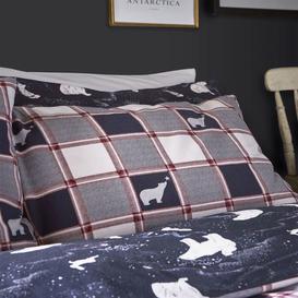image-Fat Face Polar Bear Bedding Set
