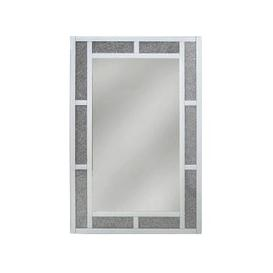 image-Rocca White Rectangular Wall Mirror - 80cm x 120cm