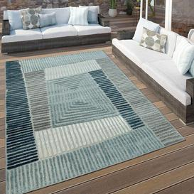 image-Dayton Blue Indoor/Outdoor Rug House of Hampton Rug size: Rectangle 120 x 170cm