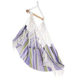 image-Edith Cotton Hanging Chair Freeport Park Colour: Tranquility