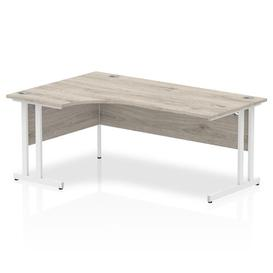 image-Zetta L-Shaped Executive Desk Ebern Designs Size: 73 x 160 x 80, Orientation: Left Orientation
