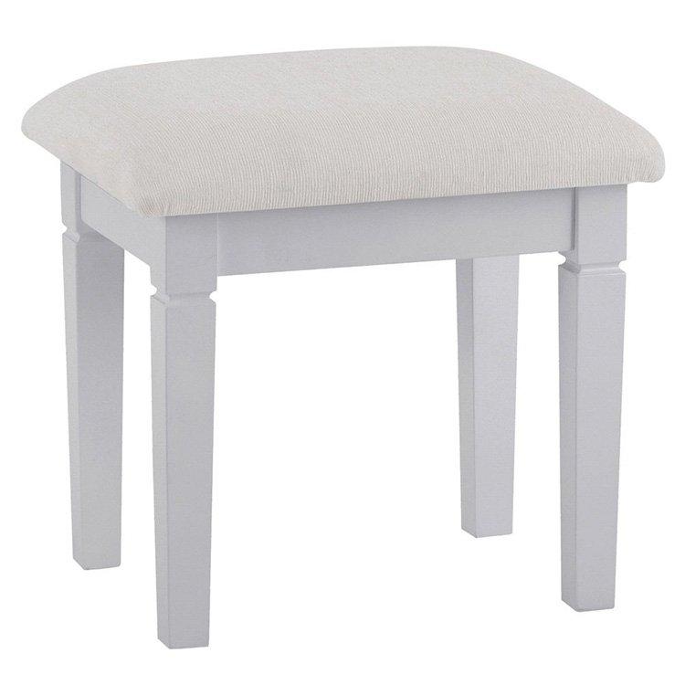 image-Maison Grey Painted Furniture Dressing Table Stool
