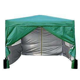 image-Jarrow 3m x 3m Aluminium Pop-Up Gazebo Sol 72 Outdoor Roof Colour: Green