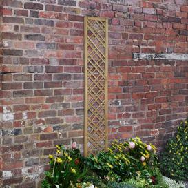 image-Kayley Wood Lattice Panel Trellis (Set of 3) Sol 72 Outdoor