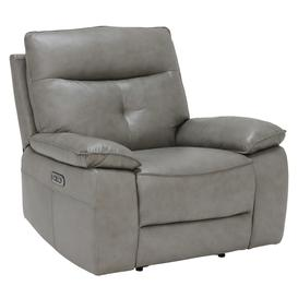 image-Aria Electric Recliner Chair, Leather