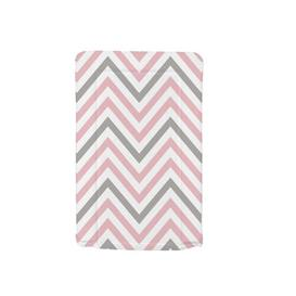image-Chevron Changing Mat My Babiie Colour: Pink
