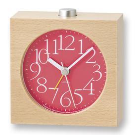 image-Sprenger Mantle Clock Brayden Studio Colour: Red