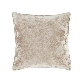 image-Catherine Lansfield Crushed Velvet Cushion