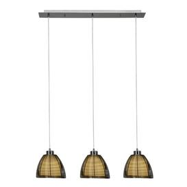 image-Hurtado 3-Light Kitchen Island Pendant Bloomsbury Market Colour: Bronze