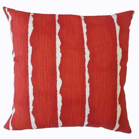 image-Arkansas Cushion Cover Brayden Studio Size: 45 x 45cm, Colour: Vermillion