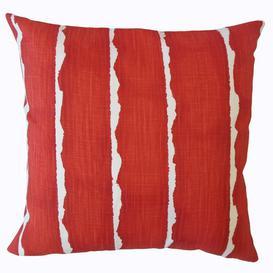 image-Arkansas Cushion Cover Brayden Studio Size: 45 x 45cm, Colour: Vermillion