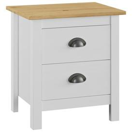 image-Perley 2 Drawer Bedside Table August Grove Colour (Top): Honey Brown