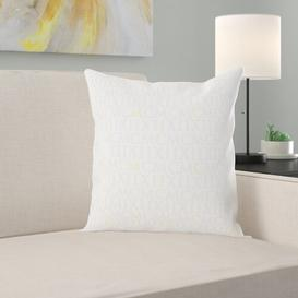 image-Mars Cushion Cover Apelt Colour: White, Size: 40 cm H x 40 cm W