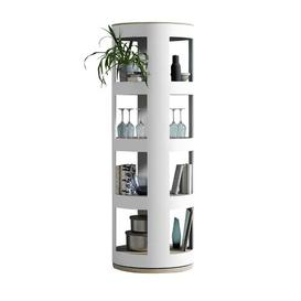 image-Rondaj Corner Bookcase rund:Stil Colour: White