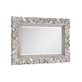 image-Baroque Distressed Wall Bedroom Mirror