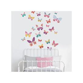 image-little home at John Lewis Butterflies Wall Stickers, Multi